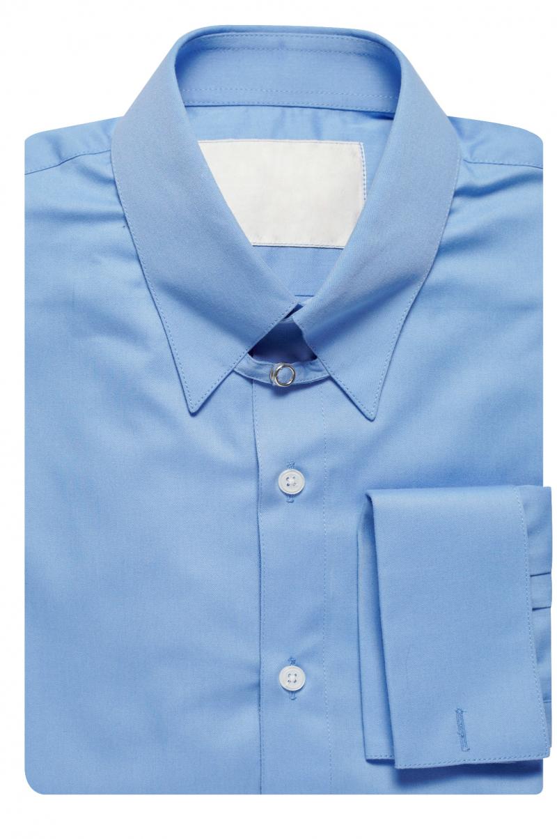 Mens Tab Collar Suit Shirt