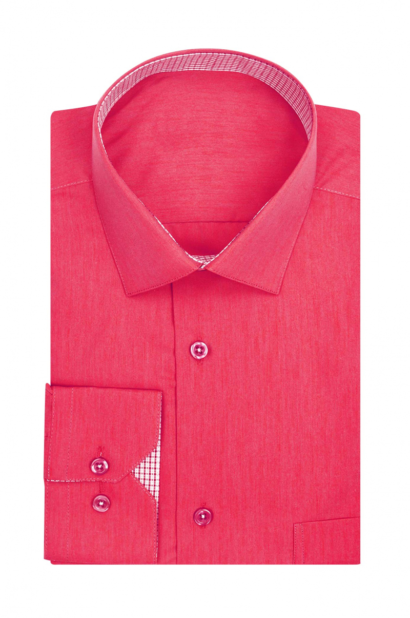 0d95f865906 Mens cherry red designer custom dress shirt