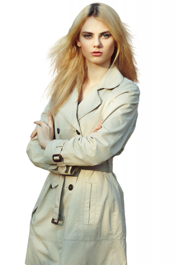 With buttoned epaulettes on sleeves cuffs, these light cream tailor made coats are stunning formals that look mesmerizing with custom pants and slim skirts. They display six black front buttons, two to close and two on seam lower pockets. These warm winter coats can be made with easy use fabrics.
