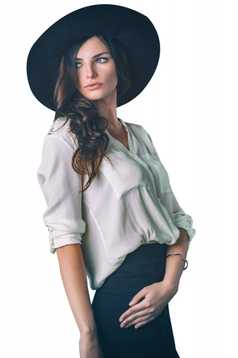 This gorgeously hand stitched womens tailor made white blouse in cotton has a beautiful placket front and a band collar. This womens handmade loose fit blouse has rounded barrel cuffs with buttons and loops to adjust the length of the sleeves. With stunning matching front close buttons and an elegant plain back, this womens bespoke white dress shirt also features standard tails. You can buy this super stunning womens custom made loose fit blouse at My Custom Tailor at rates that you can easily afford.