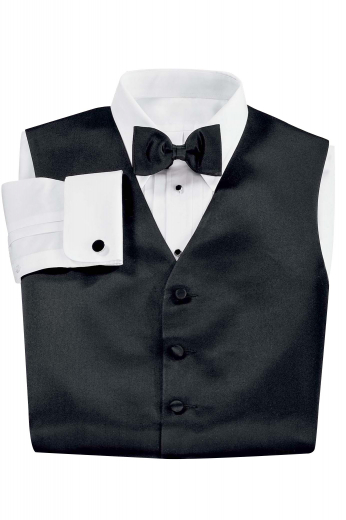 Made from pure English cotton, this custom handmade men's tuxedo formal dress shirt features an Ainsley collar, a classically designed pleated front, all in a smooth 3ply finish for a polished look.