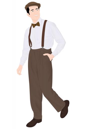Mens Closeouts – Vintage Custom made Pants & Slacks – style number 16298