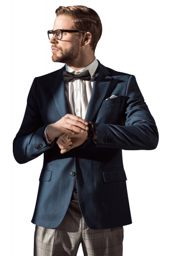 This men's dark green custom blazer is tailor made in a fine wool and cut to a slim fit, featuring double breasted button closure and notch lapels.