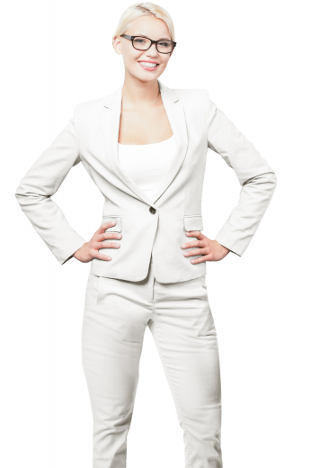 This women's slim fit blazer is custom made to fit you perfectly, featuring a single breasted button closure and notch lapels.