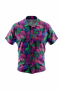 Paisley pattern men short sleeved shirt for casual wear. A fun colorful men's custom tailored short sleeve dress shirt intricately designed print. This men's made to measure dress shirt is great for a casual day out on the town and also for summer vacation. This handstitched dress shirt will make a great addition to your summer collection.