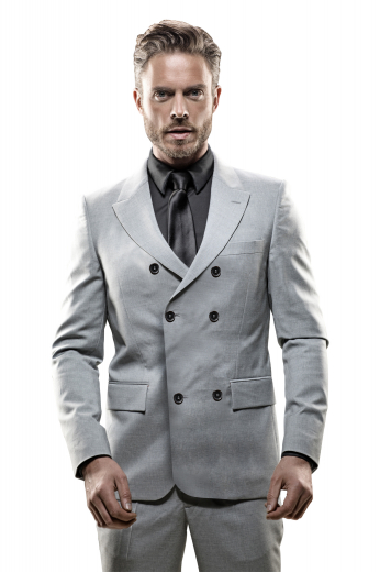 Mens Designer Brands – Double Breasted Suits – style number 17321