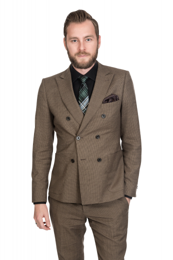 Mens Designer Brands – Double Breasted Suits – style number 17322
