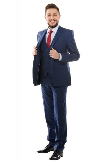 Mens Designer Brands – Mens 3pc Suits – style number 17327