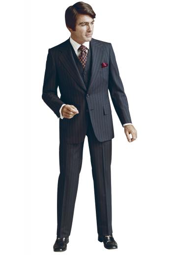 Mens Designer Brands – Mens 3pc Suits – style number 17328