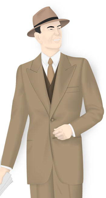 Vintage 3pc Suits