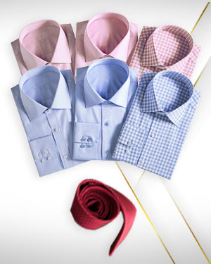 Summer Arrival - 6 Shirts  and 1 Necktie from our Premium Collection