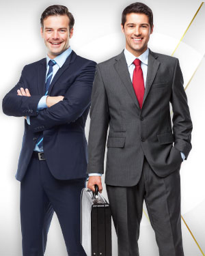 Best Spring Deal - 2 Suits with extra Pants, 2 Shirts and 2 Neckties