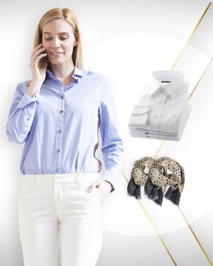 Summer Special Four Shirts and 2 Silk Scarfs for Women from our Exclusive Collections