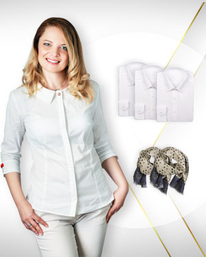 Summer Blouses Offers - 4 Blouses 2 Neckties our Premium Collection