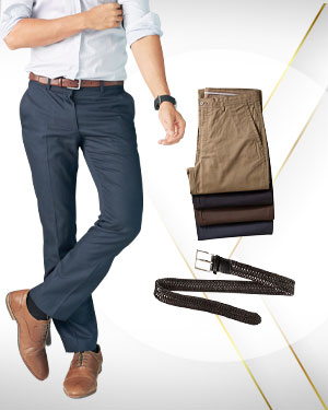 The Four - 4 Pants and 1 Belt  from our Exclusive Collections