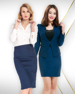 2 Womens Skirts Suits, 3 Shirts and 3 Scarfs from our Classic Collections