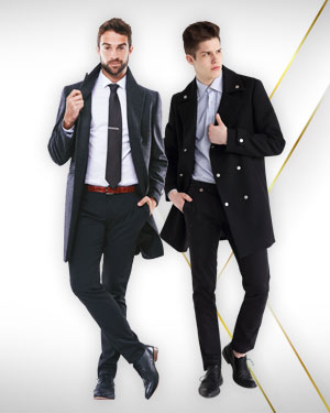 2 Cashmere Overcoats from Our Exclusive Collection and Get 2 Trousers FREE from our Exclusive Collection.