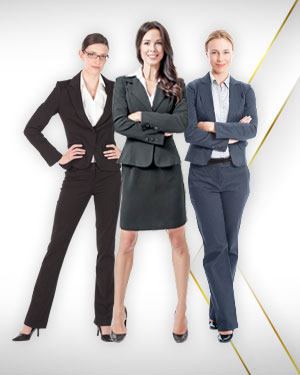 2 Pant Suits, 1 Skirt Suit from our Exclusive Collection and Get 3 Blouses Free from our Exclusive Collection