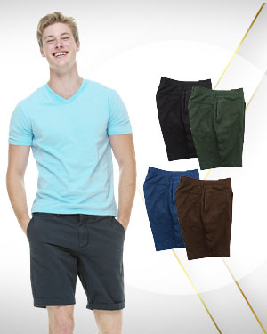 Work from Home Special - 4 Custom made mens Dress Shorts