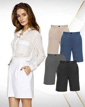 Work from Home Specials - Custom made Dress Shorts for women