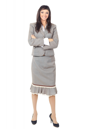 This womens custom made light grey wool skirt is a stunning formal for stylish women who like to have an updated work look. This womens tailor made flared skirt features a back zipper closure and a neat flat front. You can buy this womens handmade mid calf length flared skirt at My Custom Tailor to upgrade your wardrobe of stylish womens tailor made formal garments at super affordable rates.