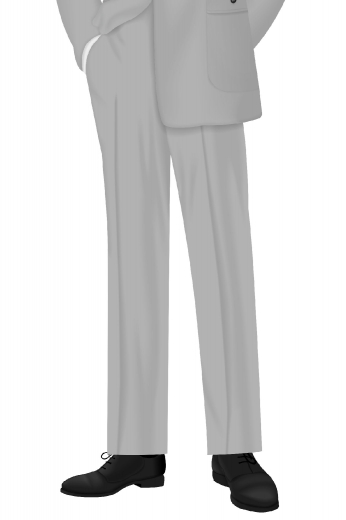 Attend your next meeting in this slim fit pair of men's made to measure vintage tailored formal pants. This hand tailored suit pants have amazing features that are both stylish and convenient such as the two-point button and hook closure, slash pockets, a single back pocket, standard belt loops, and so much more.