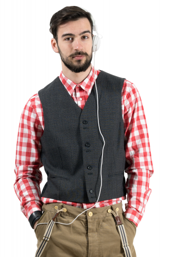Mens Designer Brands – Vests and Waistcoats – style number 17325